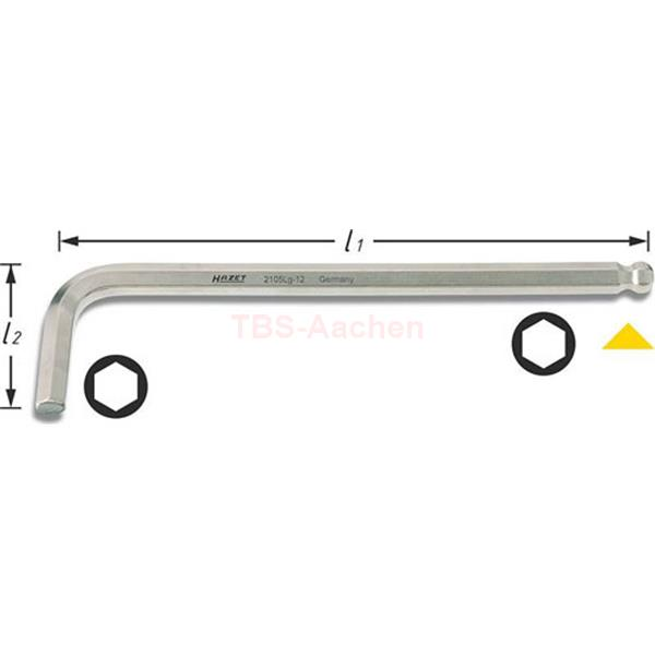 Hazet 2105LG-10 Winkelschraubendreher