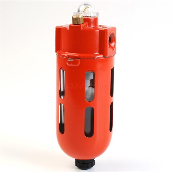 Mist oiler G1/2 with metal protection cage