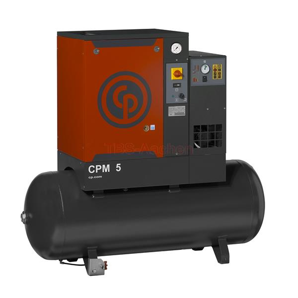 CP Screw Compressor CPM  7,5/10 DX 600 l/min200 Liter with refrigeration dryer