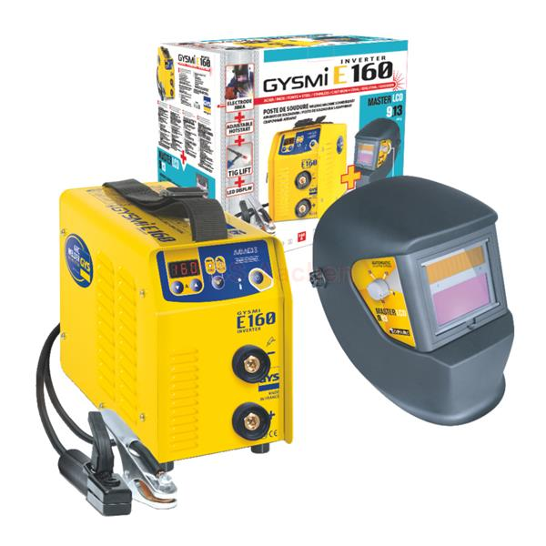 GYS welding inverter Gysmi E160 bundle
