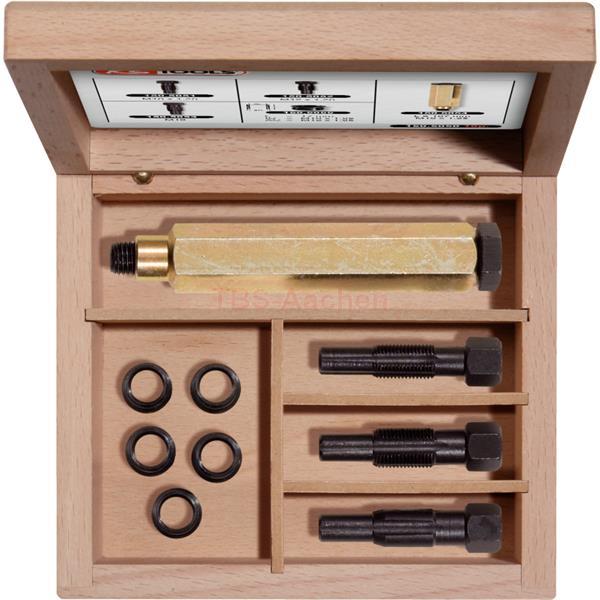 KS-Tools 150.5050 Reparatur-Set 10x1,25 Gl�hkerzen