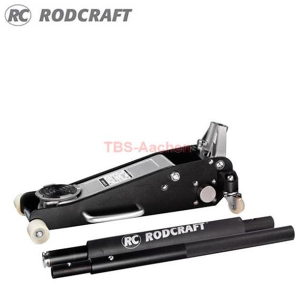 Rodcraft RH135 Alu-Wagenheber 80-375 mm 1,3 t