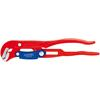 Knipex 83 60 015 Pipe Wrench S-Type red powder-coated 420 mm