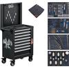 BGS 4106 Workshop Trolley, 8 Drawers, with 263 Tools