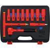 BGS 7134 VDE Socket Set, 12.5 mm (1/2