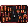 BGS 7140 VDE Pliers / Screwdriver Set, 12 pcs.