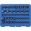 BGS 9839 Bit Socket and Socket Set, E-Type / T-Star for TX, 52 pieces