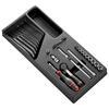 Facom MOD.R161-1U 1/4- Socket Foam Mod 6Pt In R.161B 36Pc