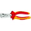 Gedore VDE 8099-160 H VDE Stripping pliers STRIP-FIX with VDE insulating sleeves 160 mm