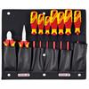 Gedore 1100 W-002 VDE Tool board with VDE pliers/screwdriver assortment 9 pieces