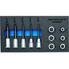 Gedore 1500 CT1-INX 19 LK Screwdriver bit socket set 1/2