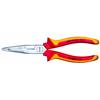 Gedore SB VDE 8131 AB-200 H VDE Multiple pliers with VDE insulating sleeves, angled pattern 200mm