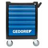 Gedore WSL-MB6 Tool trolley workster smartline BLACK EDITION