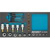Hazet 163-192/24 TX socket set in Safety-Insert-System