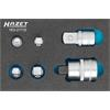 Hazet 163-217/6 Tool Set in Safety-Insert-System