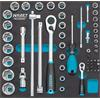 Hazet 163-224/57 Socket 7 screwdriver set