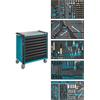 Hazet 179NXL-8/321 Tool trolley with  321-pcs tool set