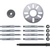 Hazet 4935-2/15 Wheel Hub- / Cardan Shaft Extractor Set