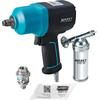 Hazet 9012EL-SPC/4 Jumbox 2.0 Impact wrench with assortment