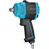 Hazet 9012MTT Mini Twin Turbo impact wrench, extra short 1/2