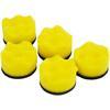 Hazet 9033M-9-011 Polishing pads for 9033M-9, curved, 5 pcs