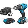 Hazet 9230-2 Cordless drilling machine set, 18 V, 2 Ah, 3 pieces