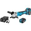 Hazet 9233-7 Cordless right-angle grinder set, 3-piece