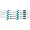 Hazet 9234W-225/5 Saw blade set, 5 pcs, wood