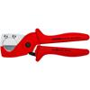 Knipex 90 25 185 Pipe cutter for plastic composite pipes