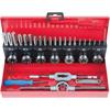 KS-Tools 331.0732 HSS Co tap and die set, 32 pcs