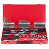 KS-Tools 331.0744 HSS Co tap and die set, 44 pcs