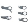 KS-Tools 515.5093 Scraper blade, curved, offset, b