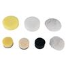 KS-Tools 515.5122 Burnishing pads yellow, Ø 85,0mm