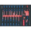 KS-Tools 711.0022 SCS screwdriver and hook set, 22