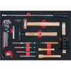 KS-Tools 711.0023 SCS hammer and wrench set, 23 pc