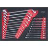 KS-Tools 711.0024 SCS wrench set, 24 pcs, 1/1 syst