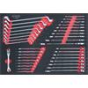 KS-Tools 711.0036 SCS wrench set, 36 pcs, 1/1 syst