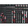 KS-Tools 711.0128 SCS Steckschlüssel-Satz, 128-tlg