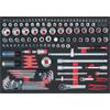 KS-Tools 711.0135 SCS Steckschlüssel-Satz, 135-tlg