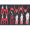 KS-Tools 711.1012 SCS Pliers set, 12 pcs, 1/1 syst