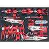 KS-Tools 711.1016 SCS Universal tool set, 16 pcs,