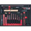 KS-Tools 711.1021 SCS Chisel and hammer set, 21 pc