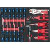 KS-Tools 711.1027 SCS screwdriver and pliers set,