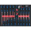 KS-Tools 711.1029 SCS Screwdriver set, 29 pcs, 1/1