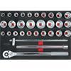 KS-Tools 711.1031 SCS Steckschlüssel-Satz, 31-tlg.