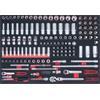 KS-Tools 711.1136 SCS Steckschlüssel-Satz, 136-tlg