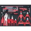 KS-Tools 711.2036 SCS pliers and wrench set, 36 pc