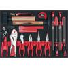 KS-Tools 711.6017 SCS Pliers, hammer and file set,