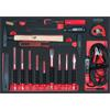 KS-Tools 711.7017 SCS chisel and hammer set, 17 pc