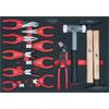 KS-Tools 711.9013 SCS Pliers and hammer set, 13 pc